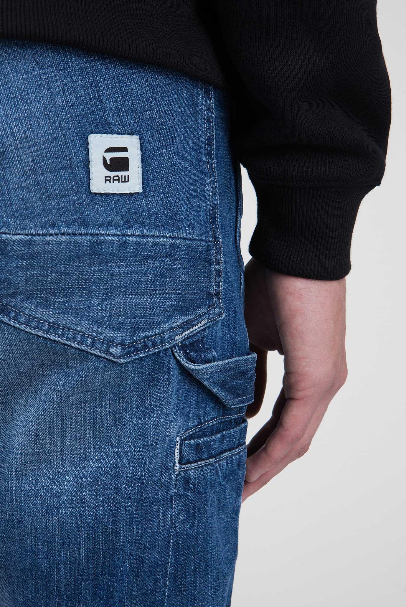 Купить Мужские синие джинсы Faeroes Classic Straight Tapered  G-Star RAW G-Star RAW D11399,8595 – Киев, Украина. Цены в интернет магазине MD Fashion