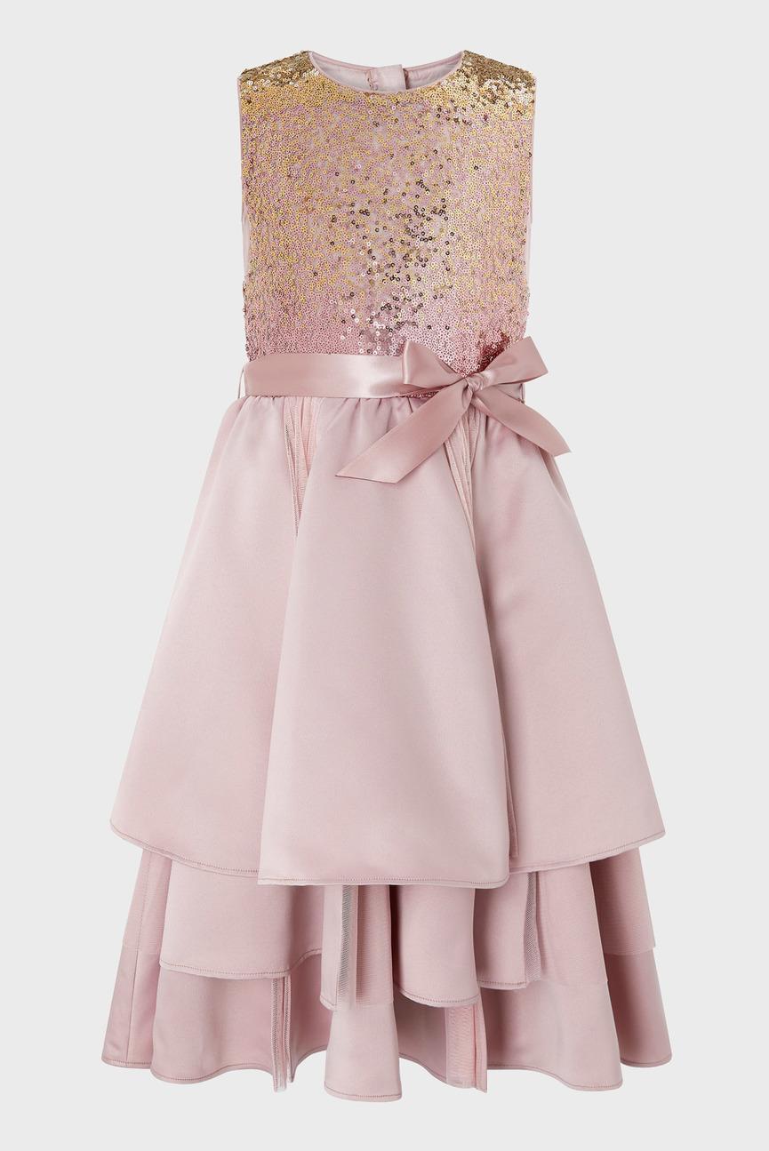 Детское розовое платье OLWYN OMBRE