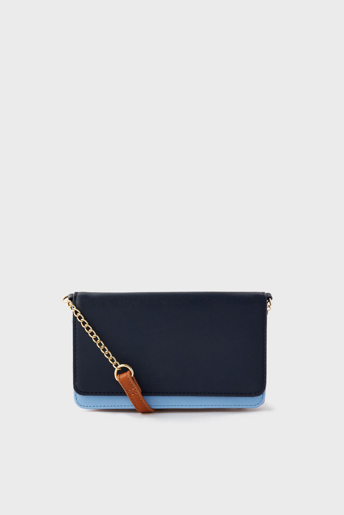 Женская темно-синяя сумка Pia Chain Purse 1