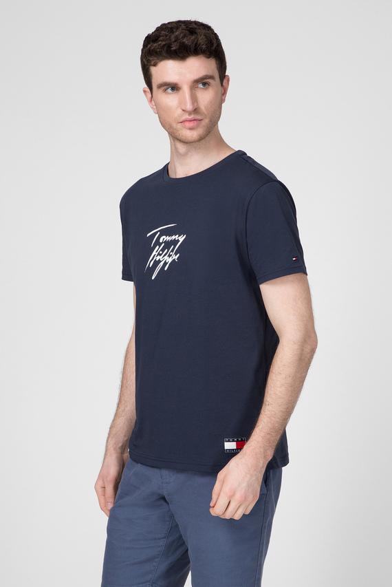Мужская темно-синяя футболка CN SS