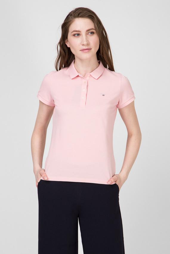 Женское розовое поло THE ORIGINAL PIQUE