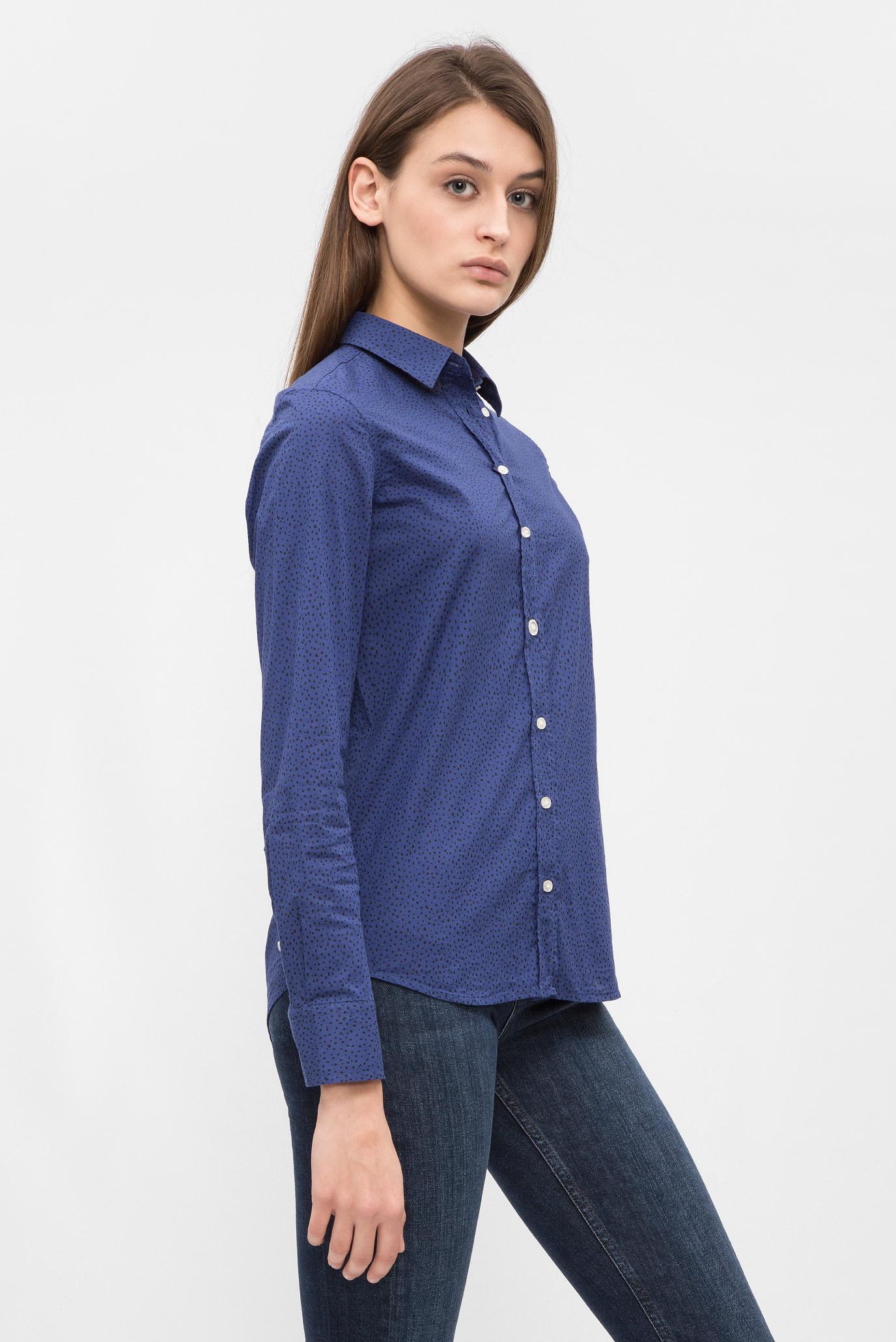 Купить Женская синяя рубашка Gant Gant 4320032 – Киев, Украина. Цены в интернет магазине MD Fashion