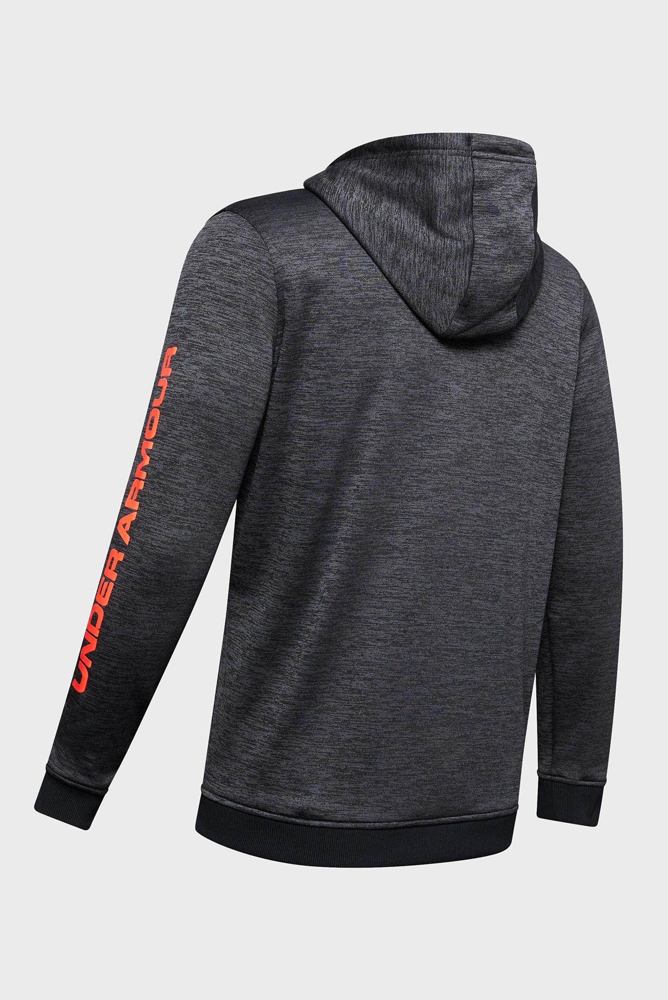 Мужское темно-серое худи AF PO Hoodie Bar Logo Graphic Under Armour