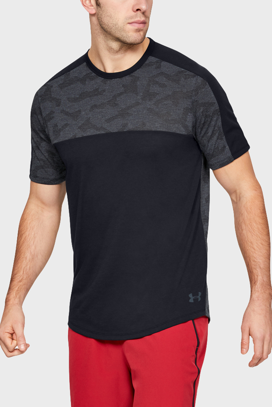 Мужская черная футболка UA Siro Elite SS