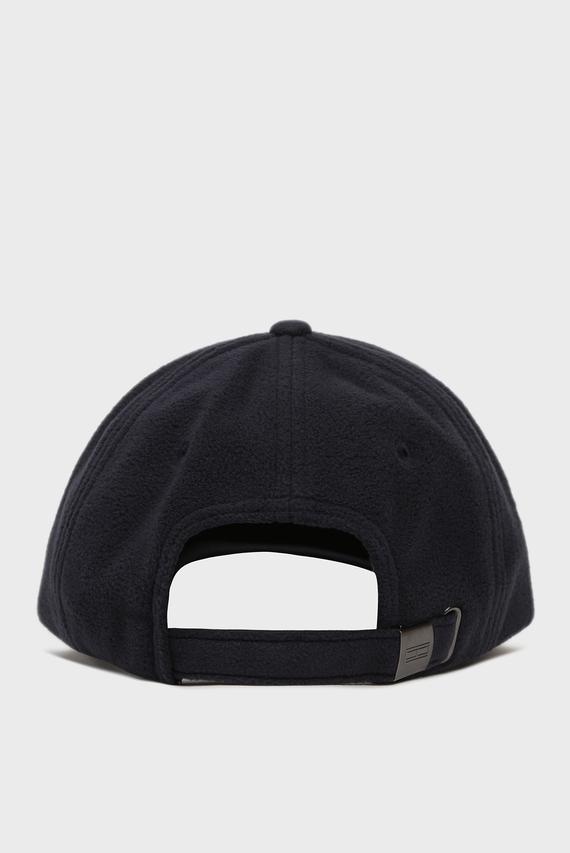 Мужская темно-синяя флисовая кепка TJM FLAG CAP FLEECE