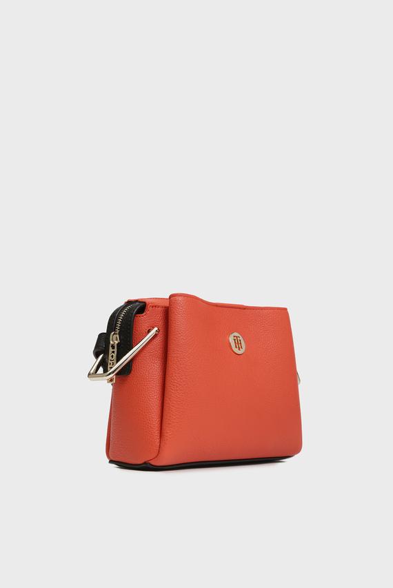 Женская оранжевая сумка через плечо TH CORE CROSSOVER