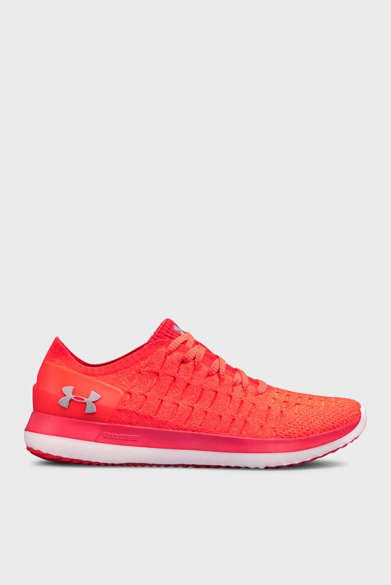 Женские красные кроссовки UA W Slingride 2