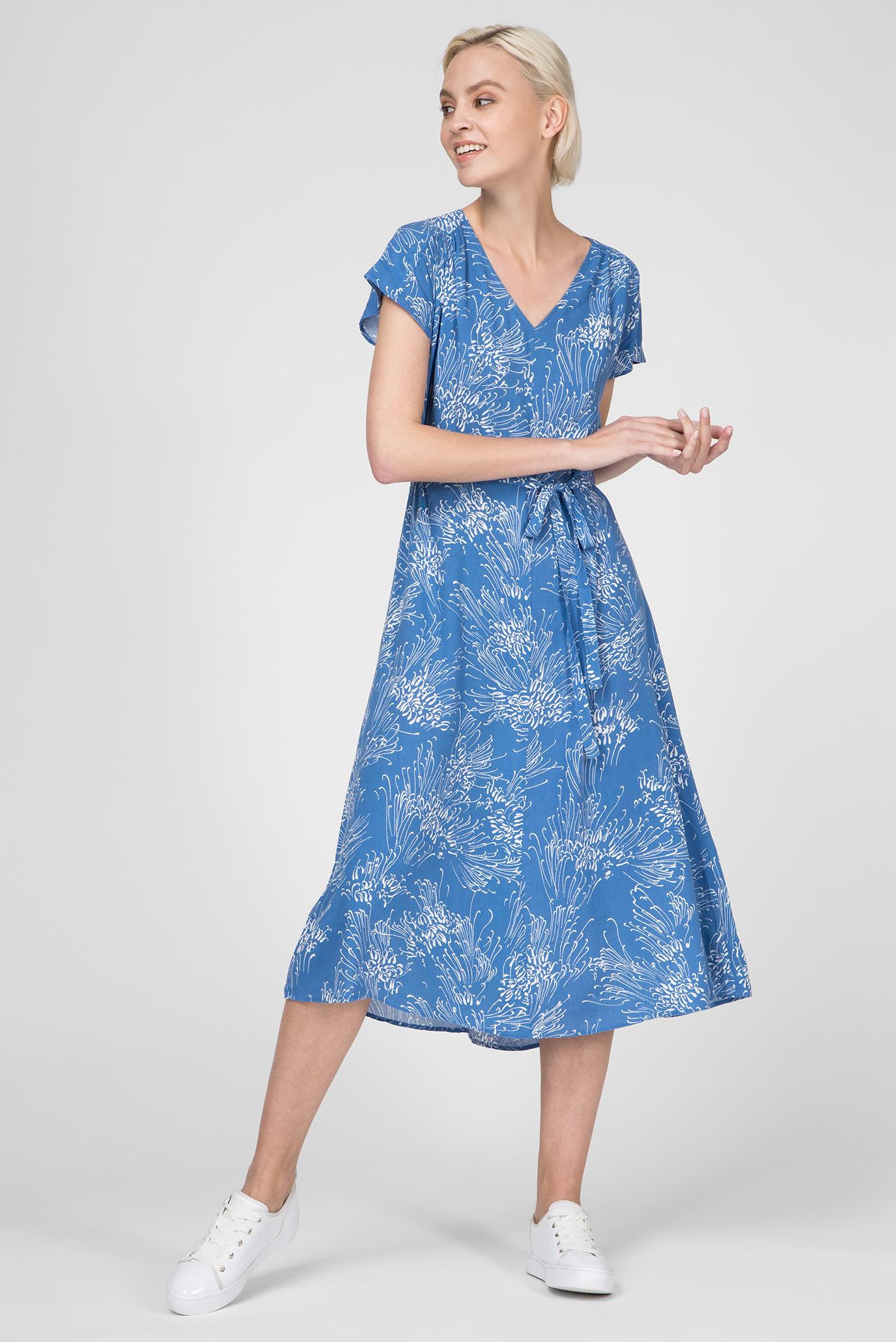 45e823310554 Купить Женское голубое платье с принтом Gant Gant 4503059 – Киев ...