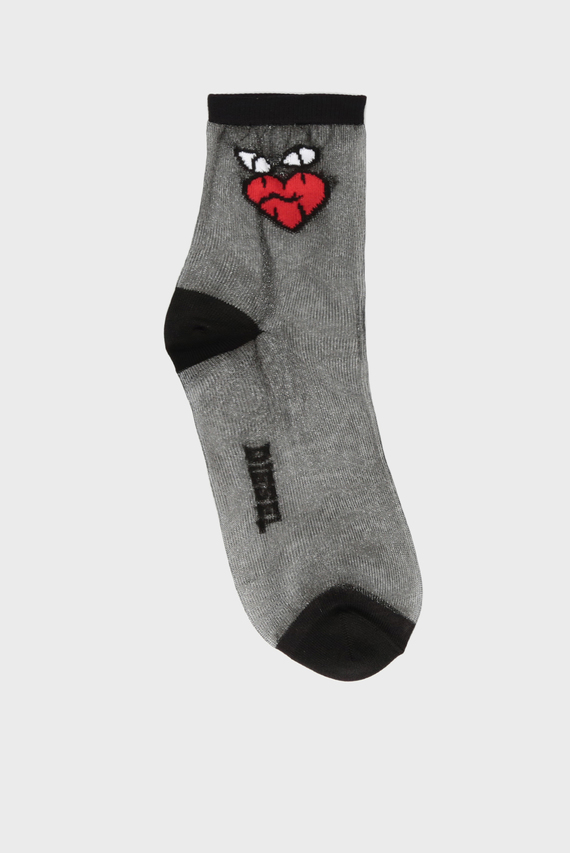 Женские черные носки SKF