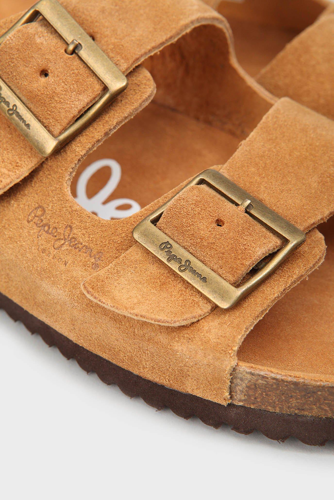 Купить Мужские рыжие замшевые слайдеры Pepe Jeans Pepe Jeans PMS90053 – Киев, Украина. Цены в интернет магазине MD Fashion
