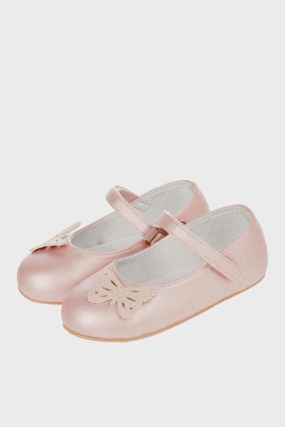 Детские розовые балетки MINA BUTTERFLY WALK