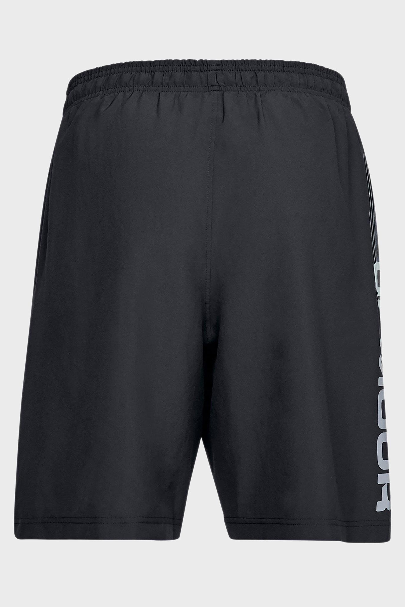 Мужские черные шорты Woven Graphic Wordmark Short Under Armour