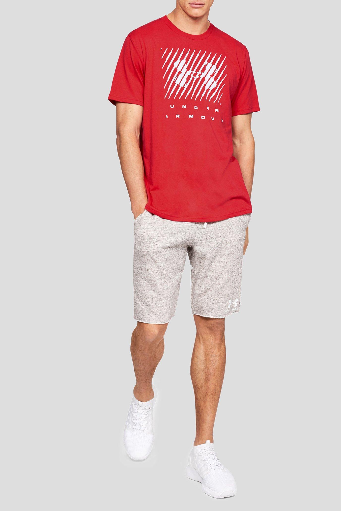 Купить Мужская красная футболка UA BRANDED BIG LOGO SS Under Armour Under Armour 1329588-633 – Киев, Украина. Цены в интернет магазине MD Fashion