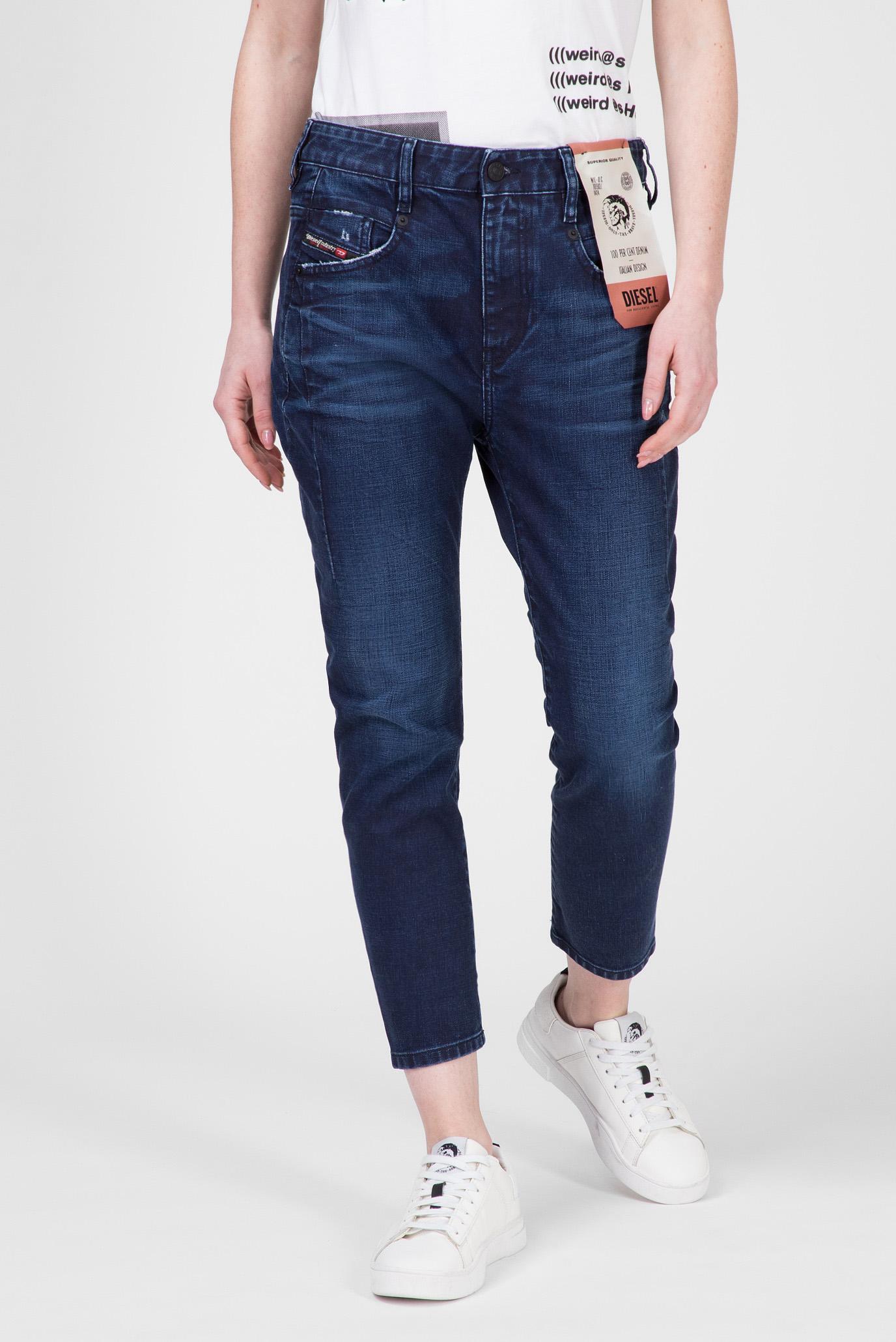 Женские темно-синие джинсы D-FAYZA 1
