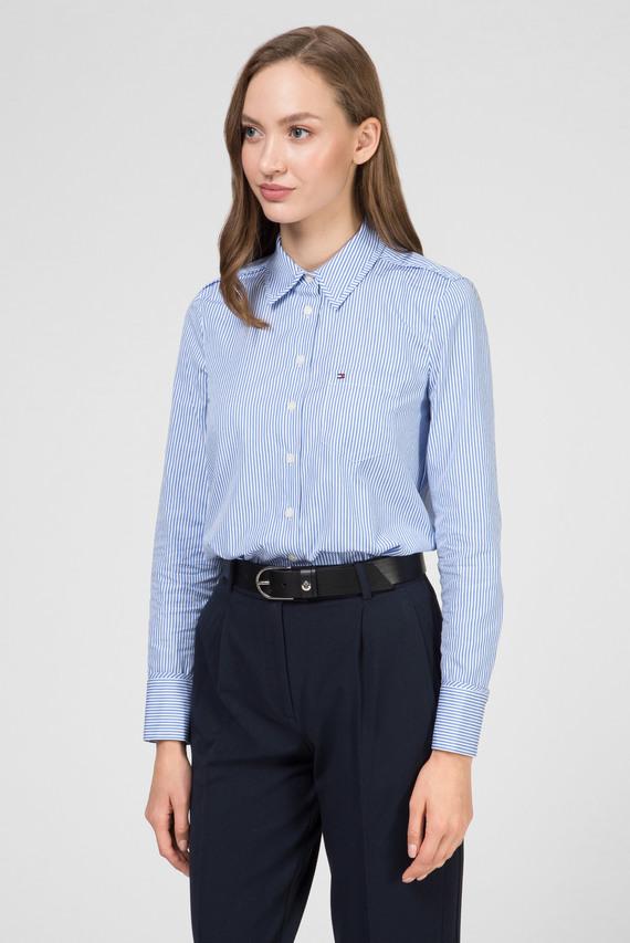 Женская голубая рубашка в полоску ARRY