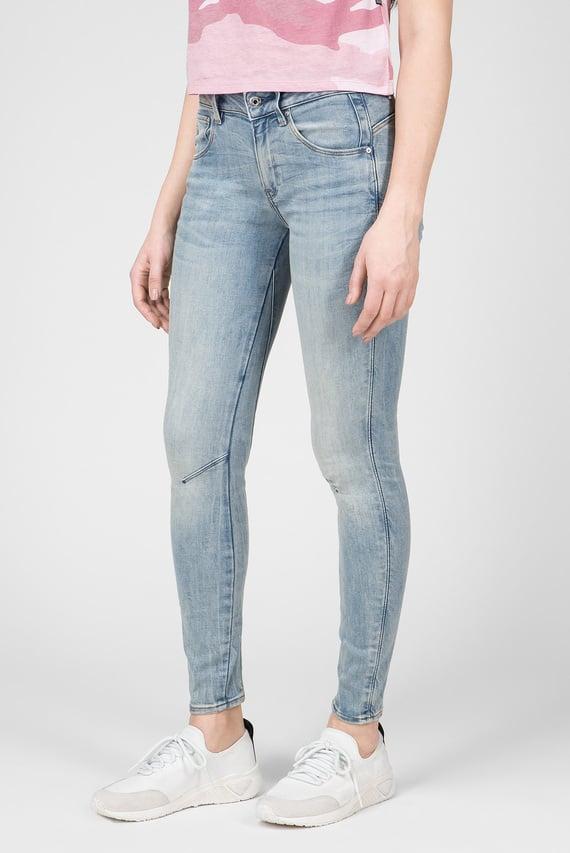 Женские голубые джинсы Arc 3D Mid Skinny 8642