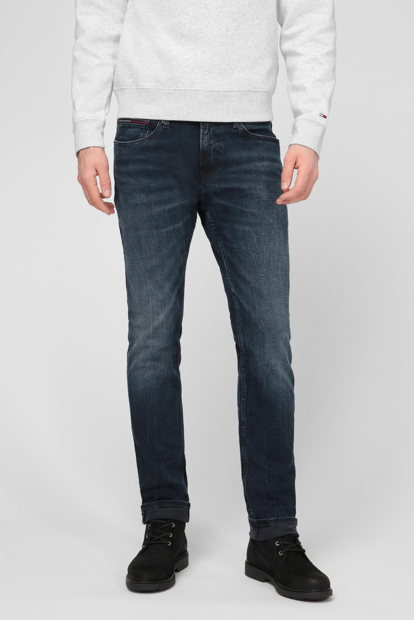 Мужские синие джинсы SCANTON SLIM MDBST Tommy Hilfiger DM0DM09296 — MD-Fashion