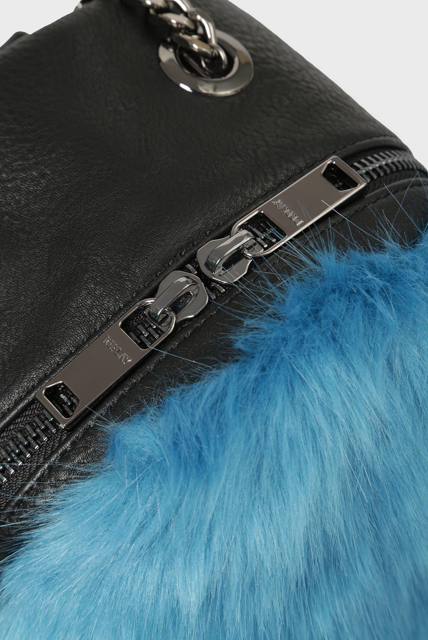 Купить Женский голубой рюкзак Replay Replay FW3792.000.A0258 – Киев, Украина. Цены в интернет магазине MD Fashion