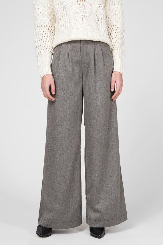 Женские серые брюки HILDA