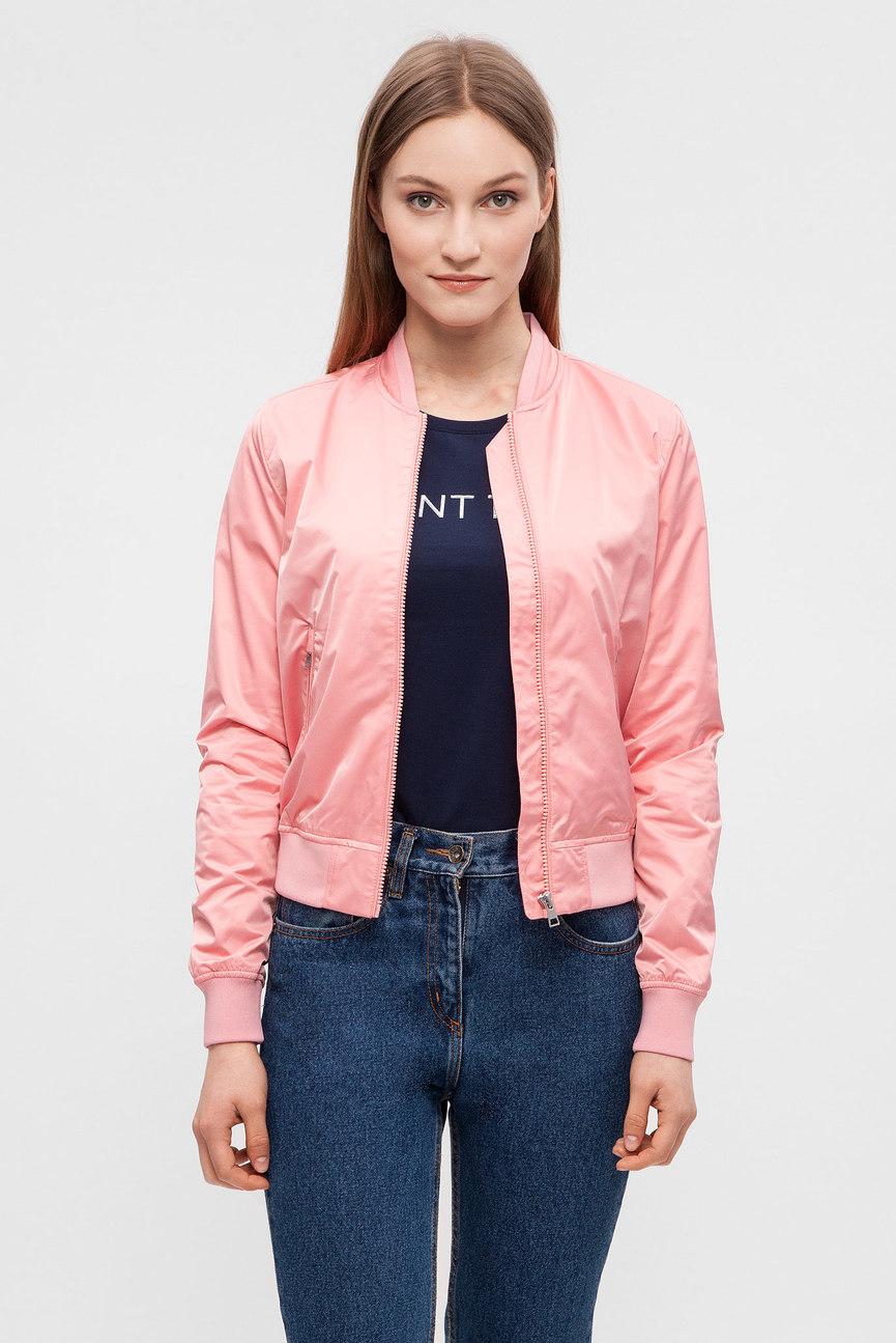 Женский розовый бомбер NYLON BLOUSON