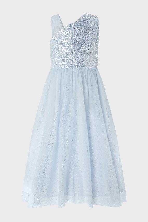Детское голубое платье NADIA