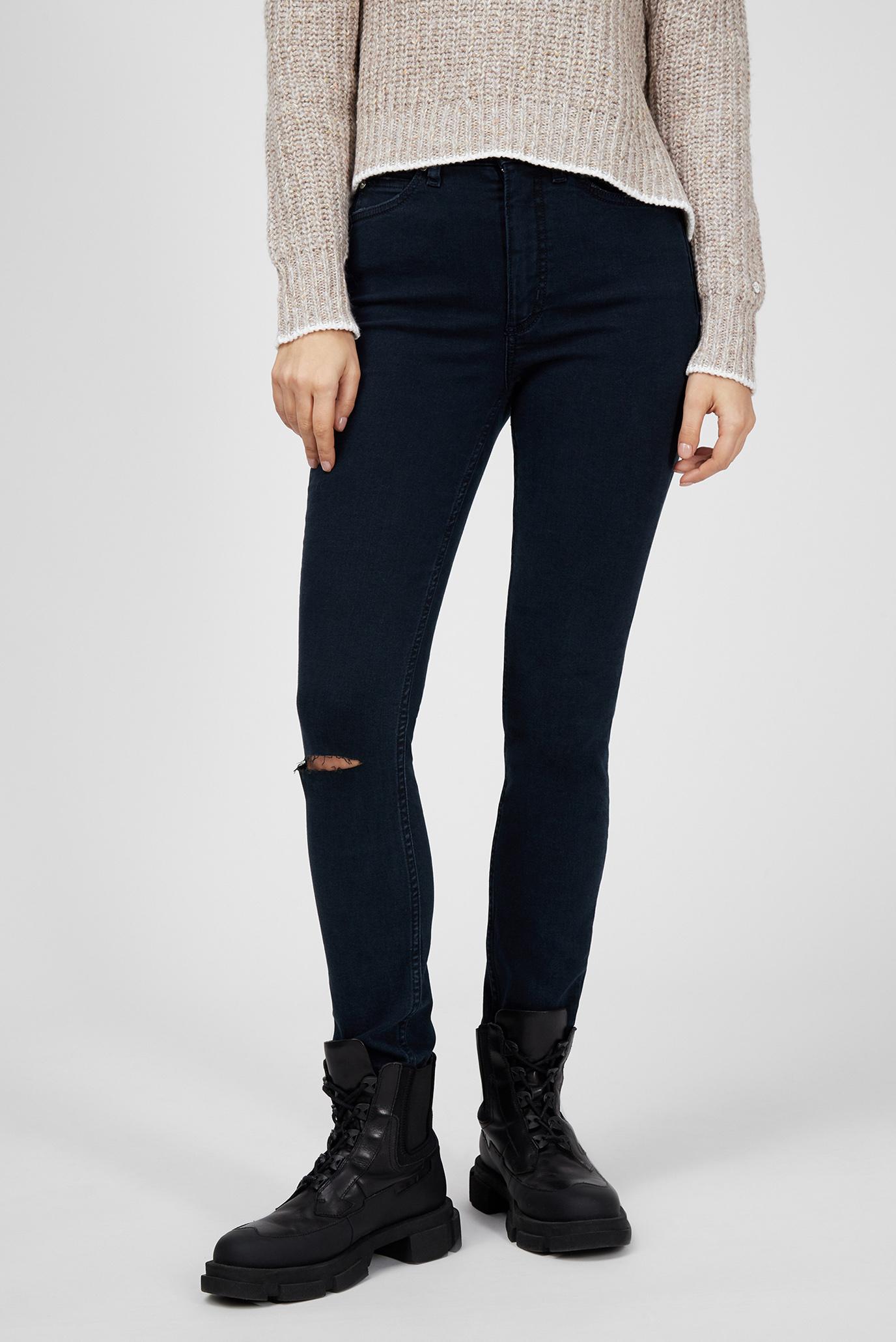 Жіночі темно-сині джинси HIGH RISE SKINNY 1