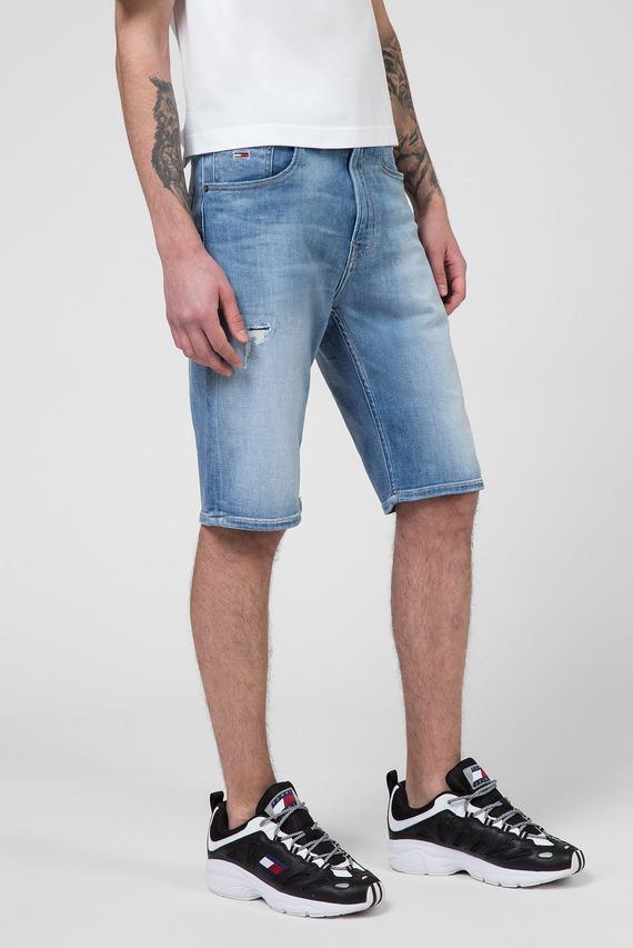 Мужские голубые джинсовые шорты REY RELAXED
