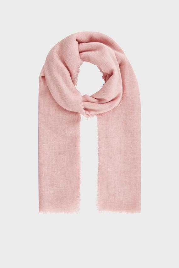 Женский розовый шарф TAKE ME EVERYWHERE