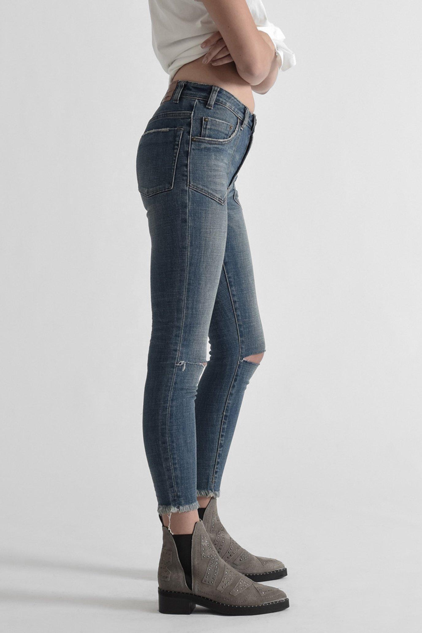 Женские голубые джинсы VINTAGE INDIGO HIGH WAIST FREE One Teaspoon