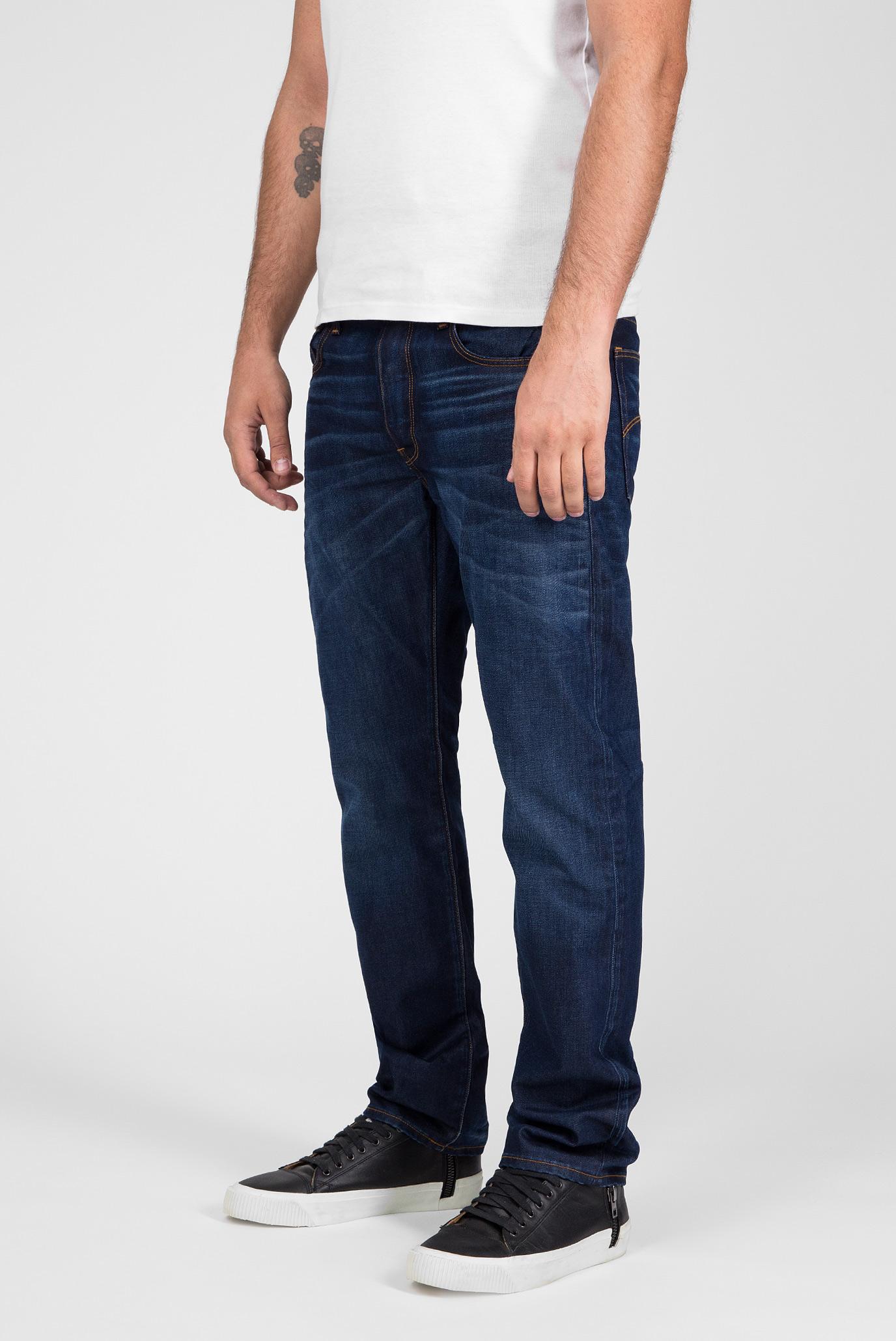 Купить Мужские синие джинсы Straight G-Star RAW G-Star RAW 51002,4639 – Киев, Украина. Цены в интернет магазине MD Fashion