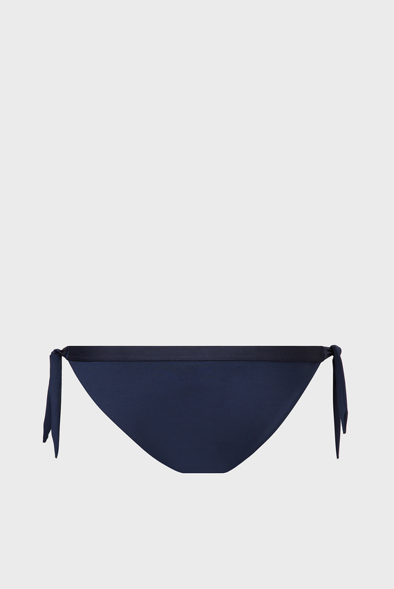 Женские темно-синие трусики от купальника CHEEKY SIDE TIE