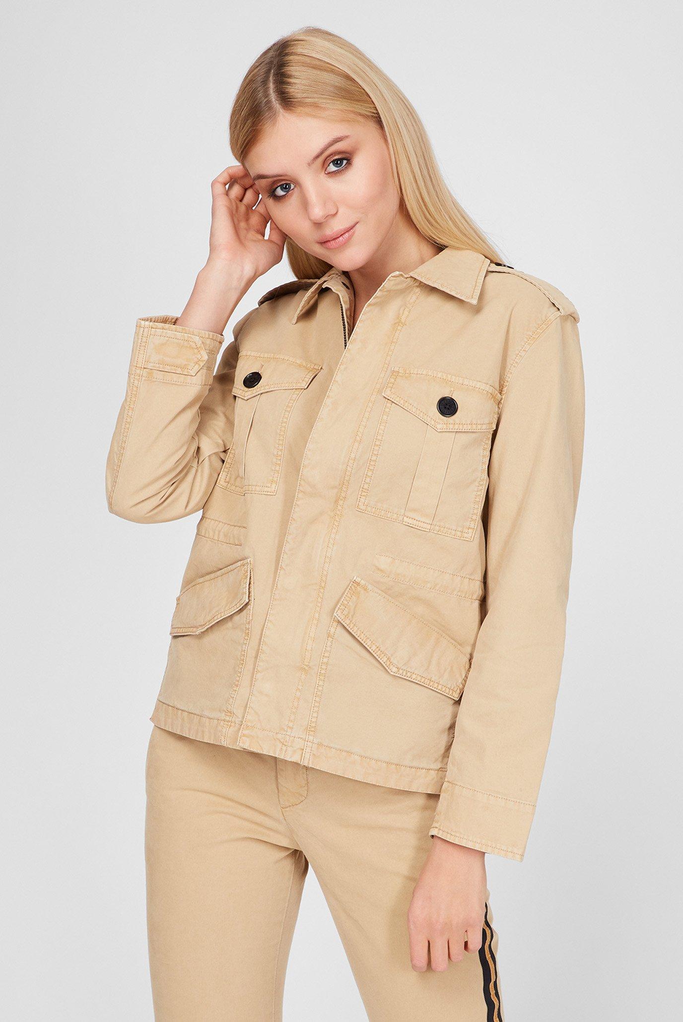 Женская бежевая куртка ZADIG&VOLTAIRE SKCO3403F_MACK — MD-Fashion