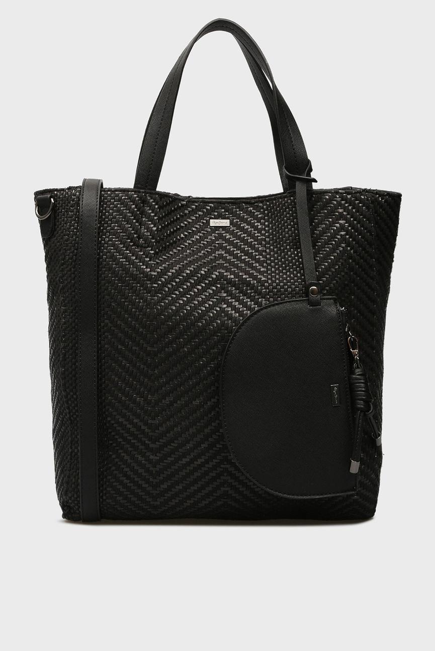 Женская черная сумка на плечо PENNY
