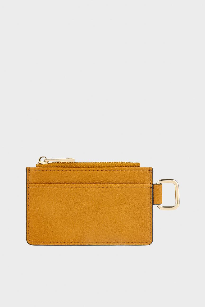 Женский оранжевый кошелек SLEEK CARDHOLDER