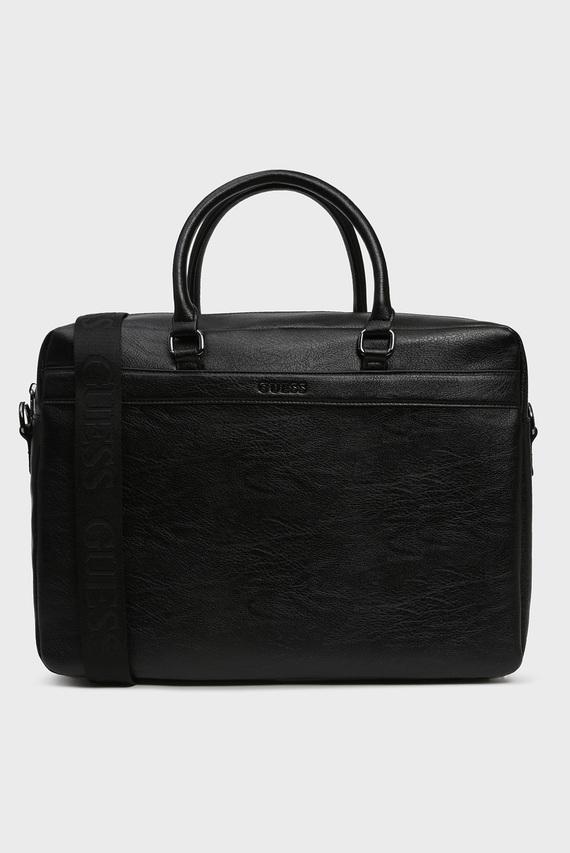 Мужская черная сумка для ноутбука CITY BRIEFCASE
