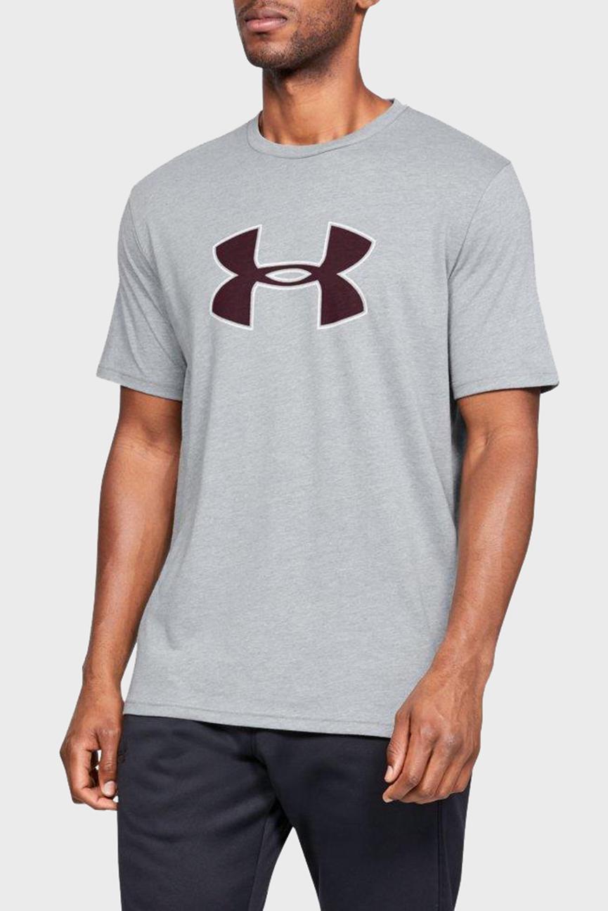 Мужская серая футболка UA BIG LOGO SS