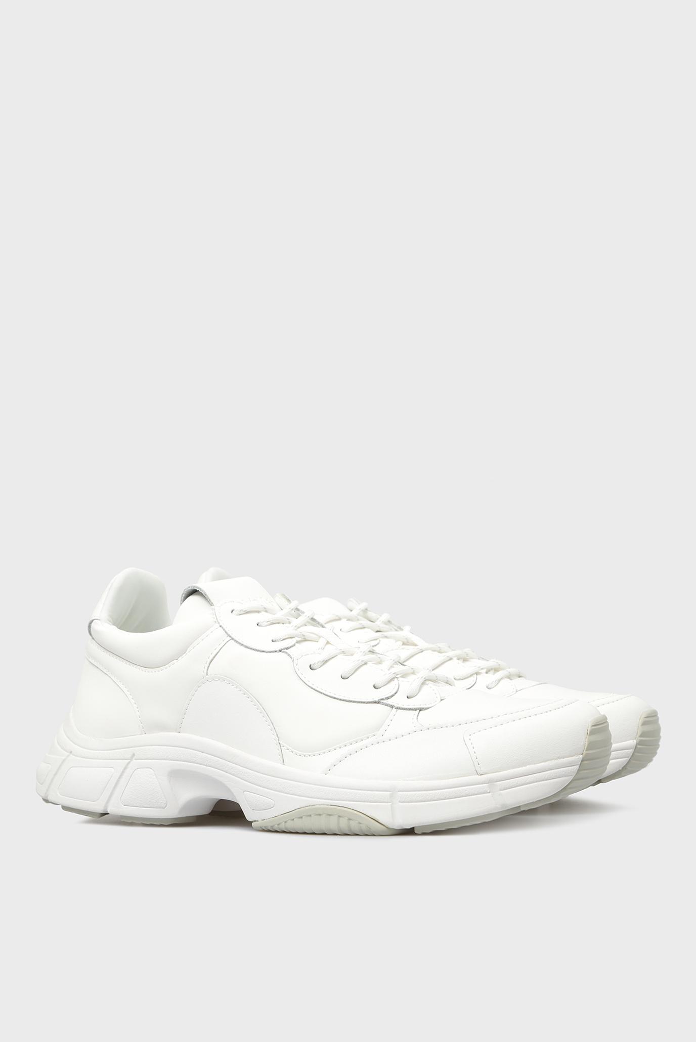 Купить Мужские белые кожаные кроссовки DAXTON NAPPA SMOOTH Calvin Klein Calvin Klein F1277 – Киев, Украина. Цены в интернет магазине MD Fashion