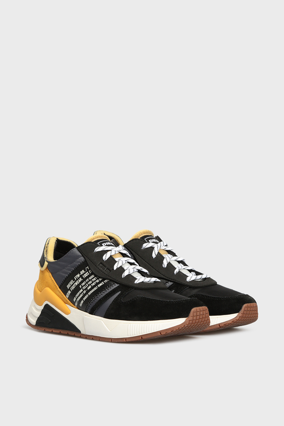 Мужские черные кроссовки BRENTHA