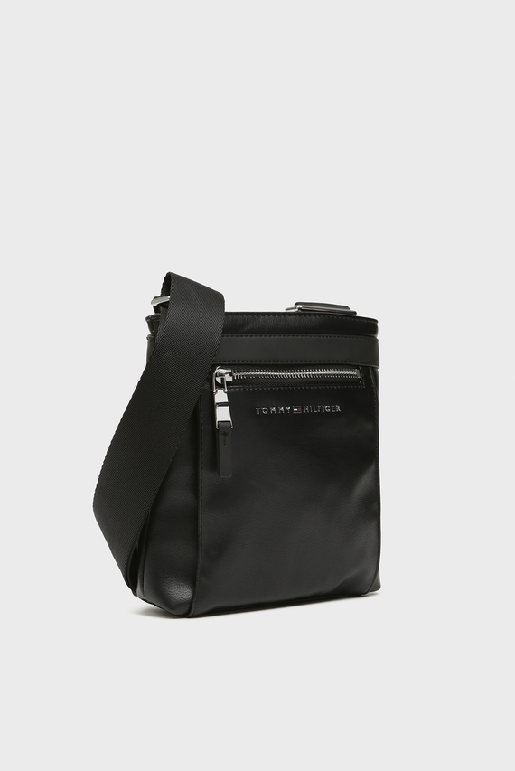 Мужская черная сумка через плечо TH METRO MINI