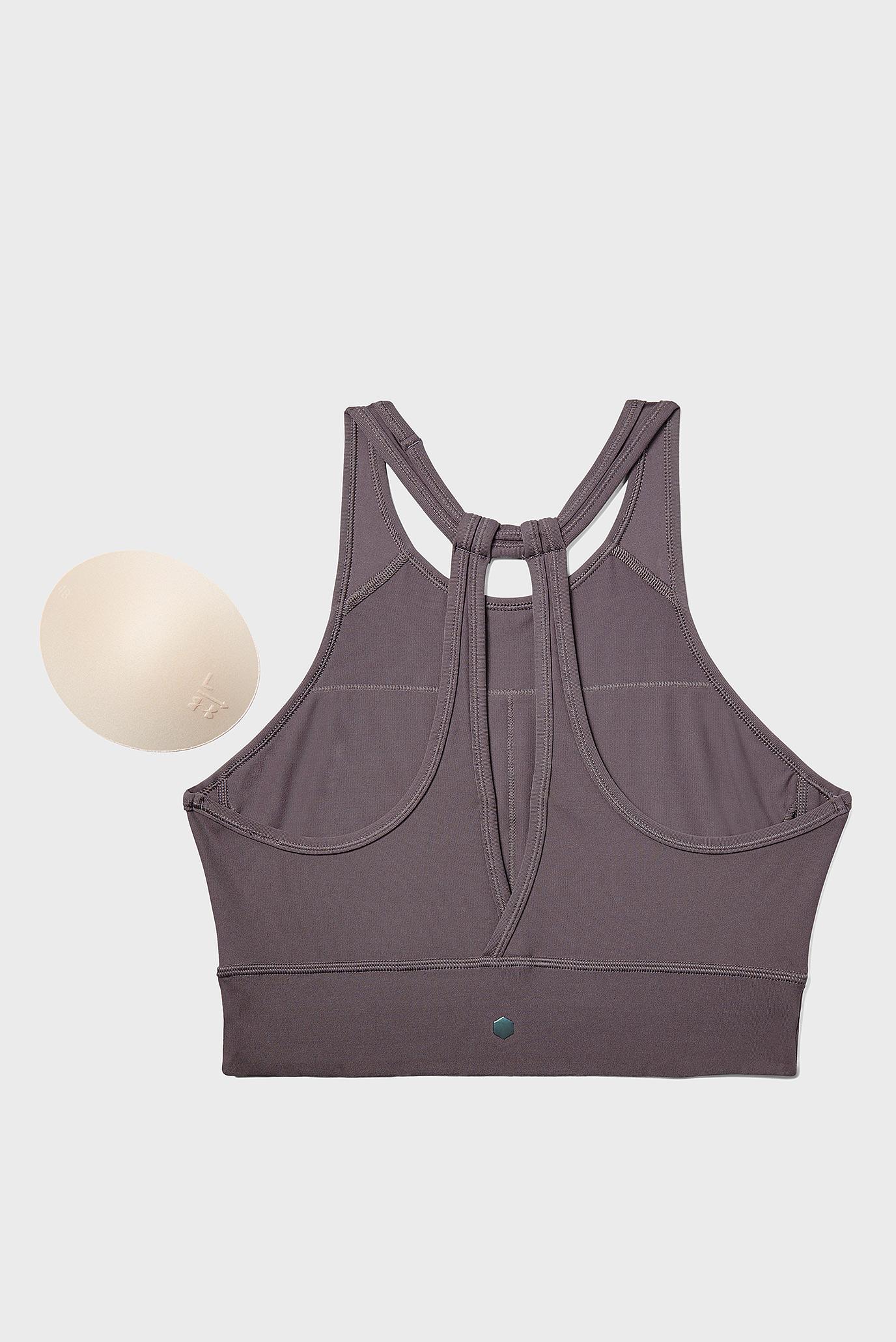 Купить Женское коричневое спортивное бра UA Rush Under Armour Under Armour 1332483-057 – Киев, Украина. Цены в интернет магазине MD Fashion