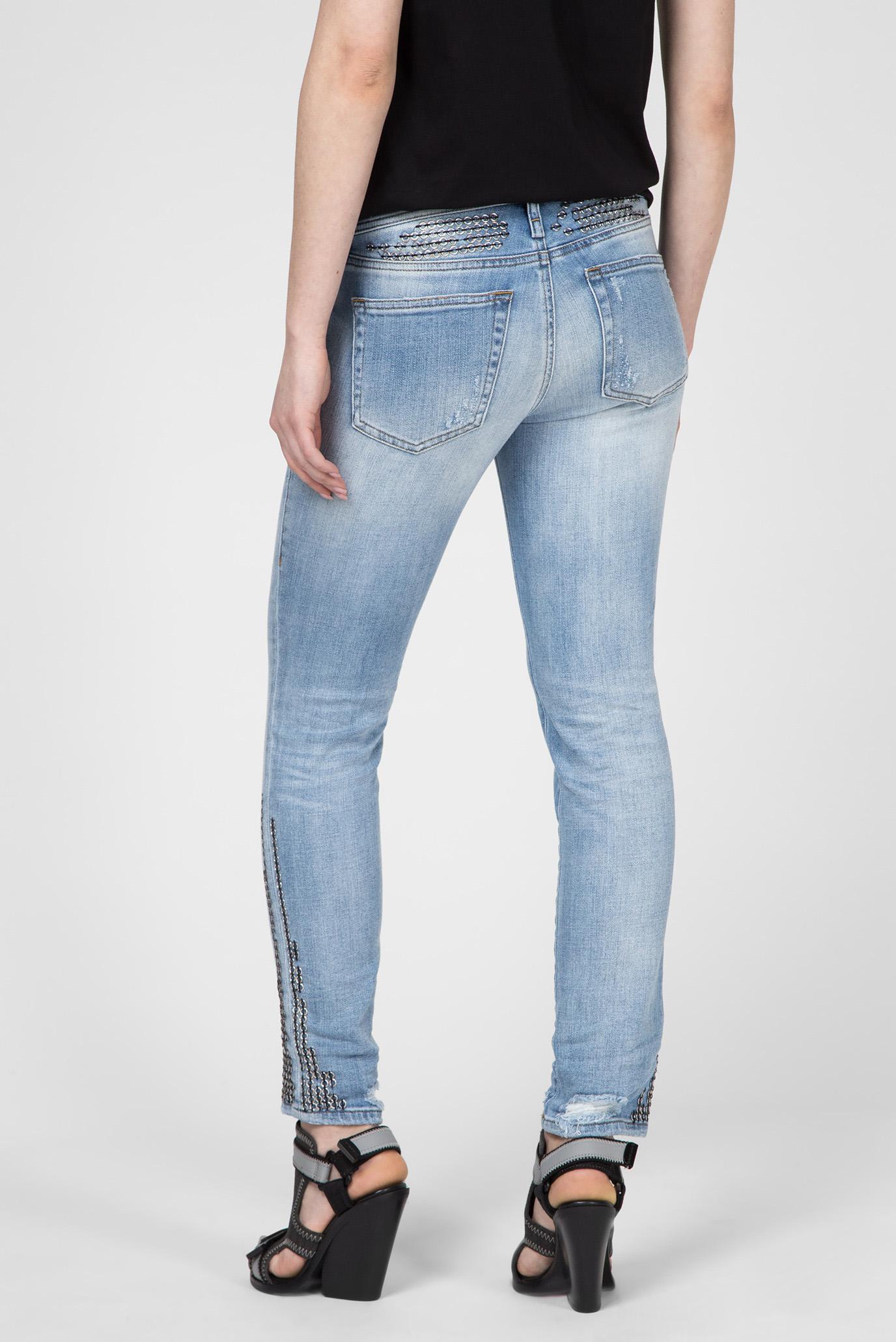 Купить Женские голубые джинсы D-RAMY Diesel Diesel 00SS18 081AJ – Киев, Украина. Цены в интернет магазине MD Fashion