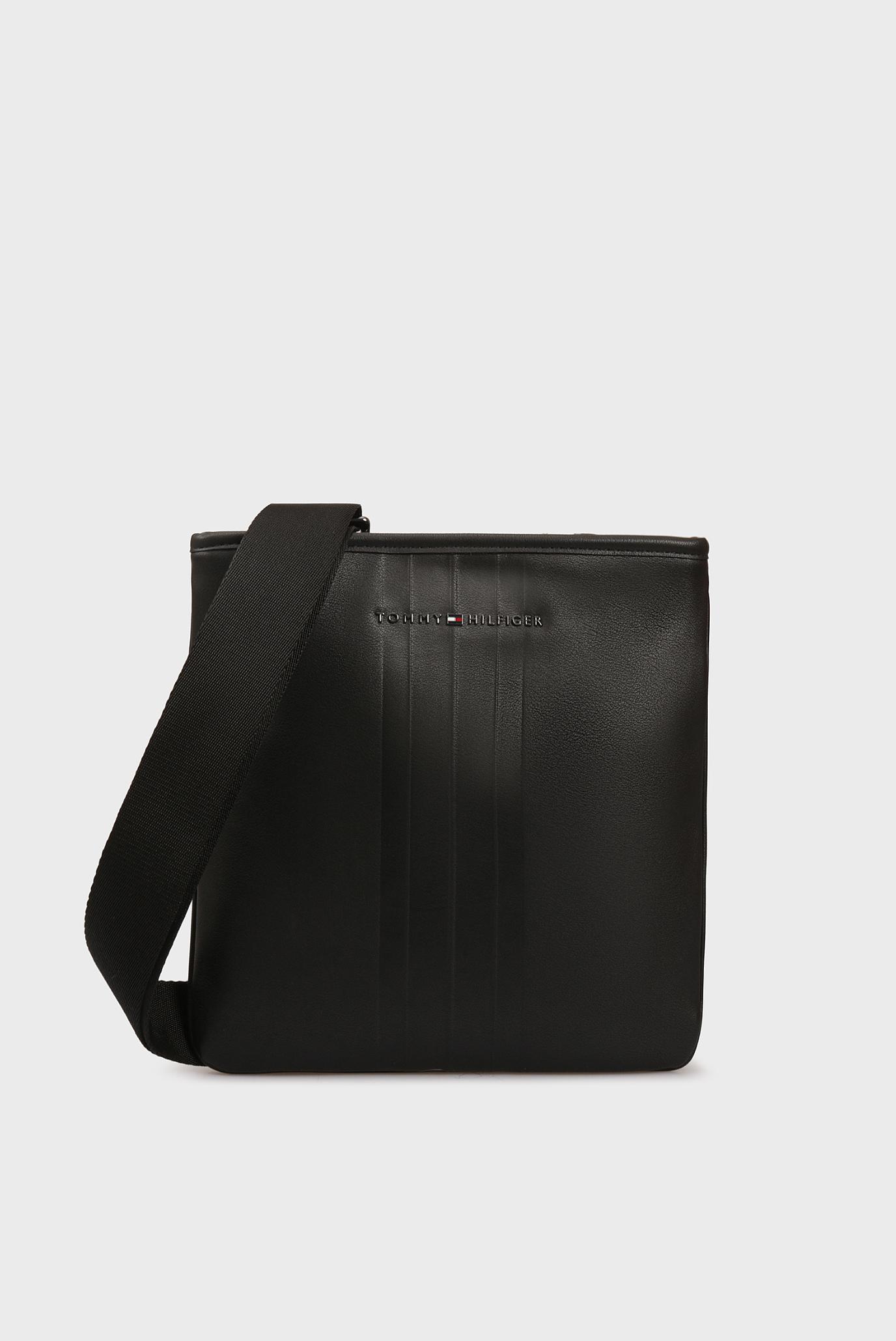 Мужская черная сумка через плечо TH METRO Tommy Hilfiger
