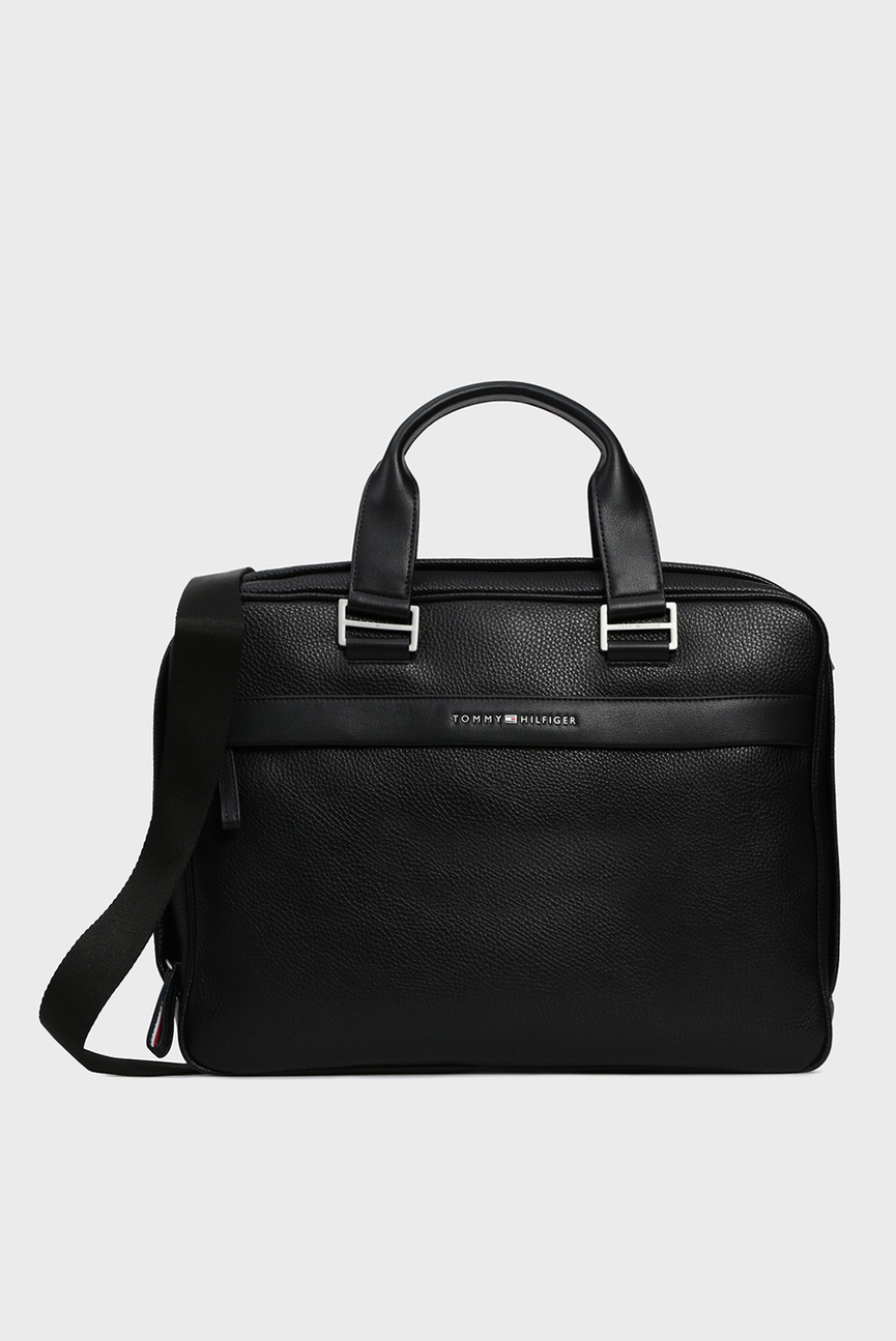 Мужская черная сумка для ноутбука TH BUSINESS COMPUTER BAG