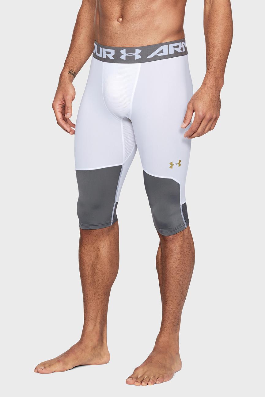 Мужские белые тайтсы UA Select Knee Tight