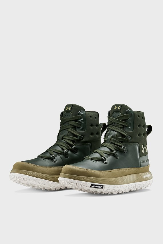 Мужские зеленые ботинки UA Fat Tire Govie