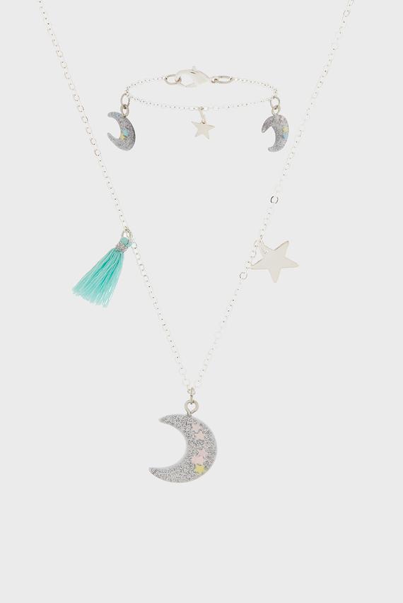 Набор детских украшений STAR GAZER JEWELL (подвеска, браслет)