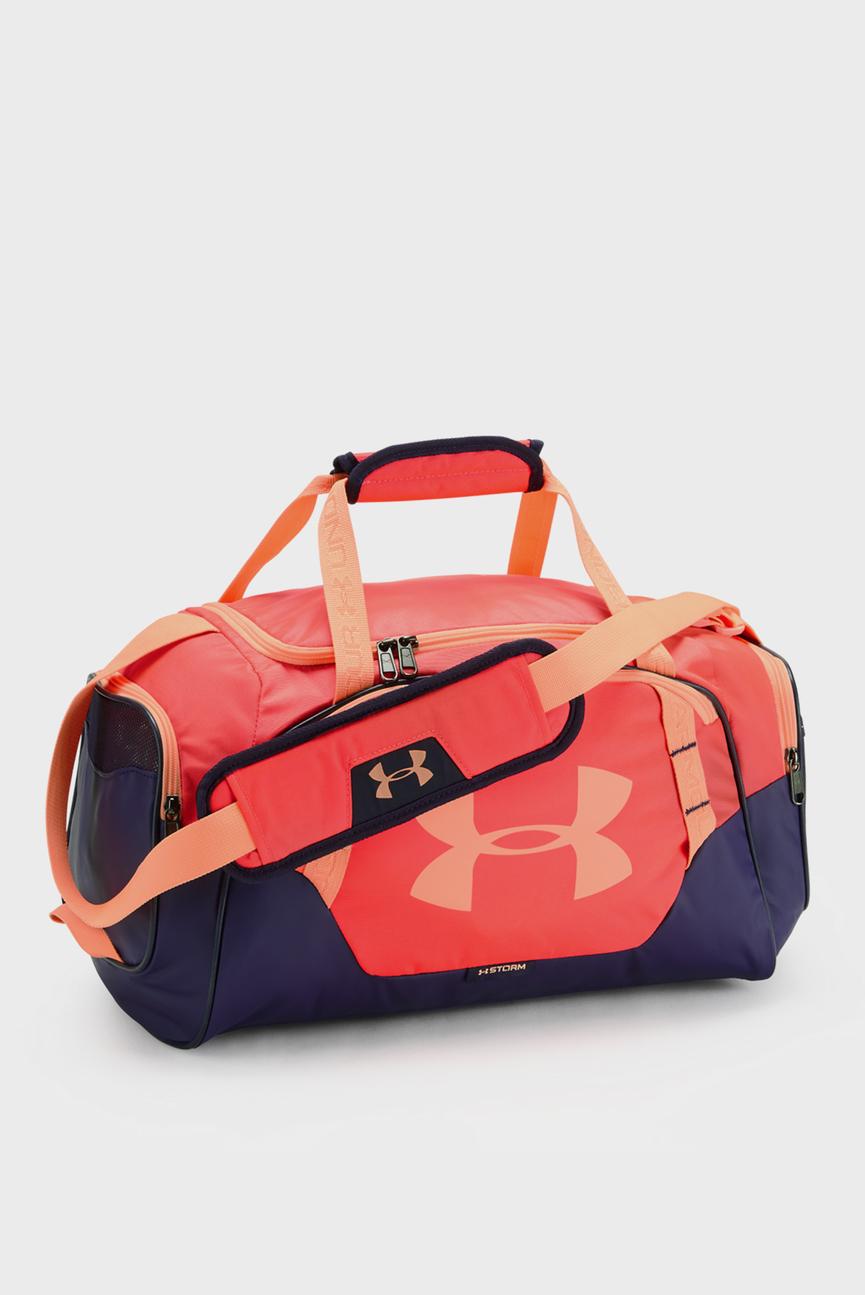 Красная спортивная сумка UA Undeniable Duffle 3.0 XS