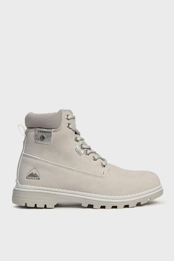 Женские светло-серые ботинки NEVADA NBX