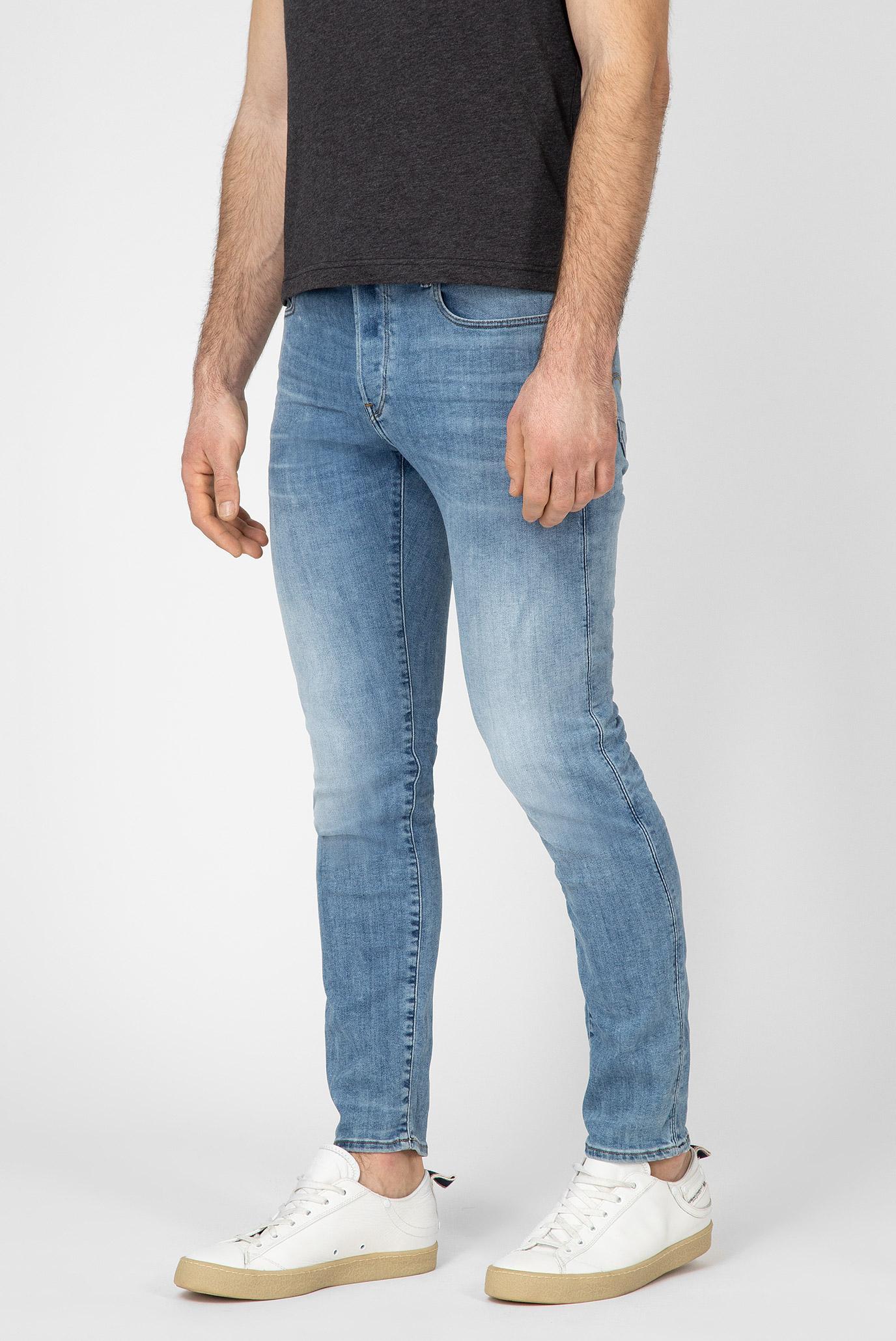 Купить Мужские голубые джинсы 3301 Slim 8436 G-Star RAW G-Star RAW 51001,8968 – Киев, Украина. Цены в интернет магазине MD Fashion