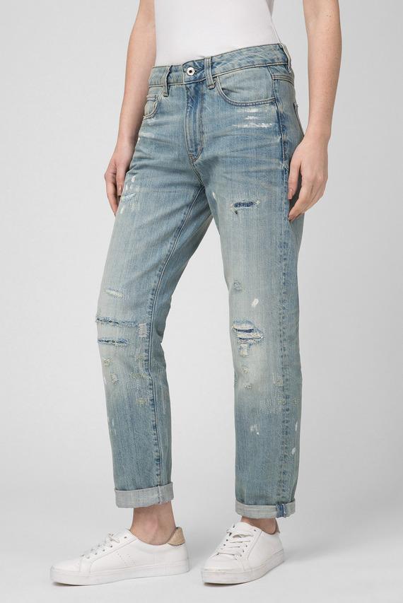 Женские голубые джинсы 3301 Mid Boyfriend